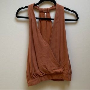 Free People Burnt Orange Crop